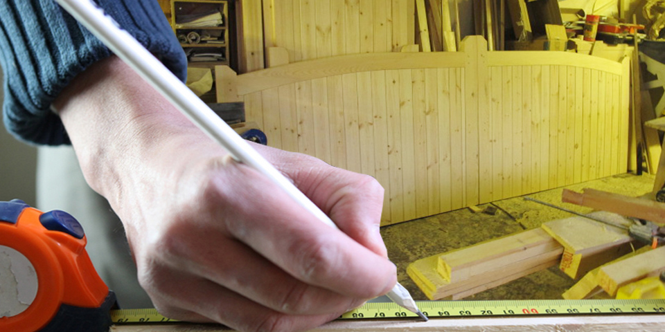 joinery being made